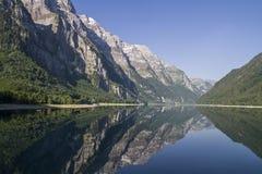 Kloental lake Royalty Free Stock Images