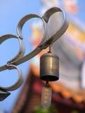 Klok & Tempel Royalty-vrije Stock Foto's