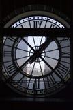 Klok bij het Museum Orsay Royalty-vrije Stock Foto