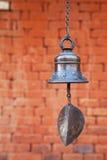 Klok in Changu Narayan, Nepal Royalty-vrije Stock Foto's
