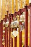 Klok in de tempel Royalty-vrije Stock Foto's