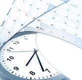 Klok en Kalenders Stock Afbeeldingen