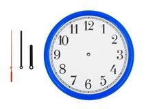 Klok en klok-handen Stock Afbeelding