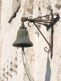 Klok in klooster Solovetskij royalty-vrije stock afbeelding