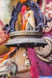 Klok met hangslot in de Tempel royalty-vrije stock afbeeldingen