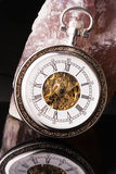 Klok op een rots Royalty-vrije Stock Fotografie