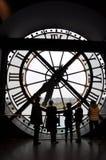 Klok in Orsay-Museum - Parijs, Frankrijk Royalty-vrije Stock Afbeelding