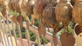 Klok in tempel Stock Foto's