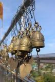 Klok in tempel Royalty-vrije Stock Afbeelding