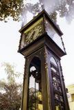 Klok Vancouver, Canada Royalty-vrije Stock Afbeeldingen