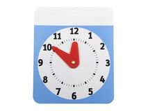 Klok zal terugkeren Stock Foto's