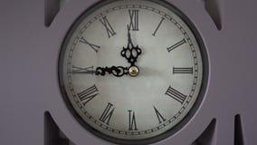 Klokaftelprocedure het Dichte omhoog Tikken stock videobeelden
