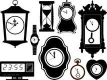 Klokken royalty-vrije illustratie