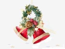 Klokken 230406 van Kerstmis Stock Afbeeldingen