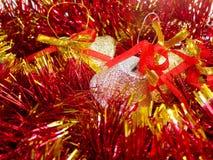 Klokken 9 van Kerstmis Stock Foto
