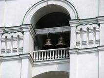 Klokken in de Orthodoxe Kathedraal Stock Foto's