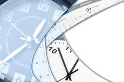 Klokken en kalenders Stock Afbeelding