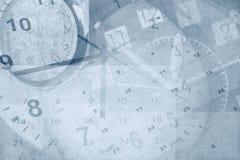 Klokken en kalenders Royalty-vrije Stock Foto