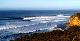 klokken strand Australië Stock Foto's
