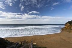 Klokkenstrand, Grote Oceaanweg, Australië royalty-vrije stock fotografie