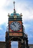 Klokketoren, Chester royalty-vrije stock afbeeldingen