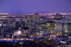 Klokketoren de klokketoren in Oude Haven van Montreal stock foto's