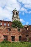 Klokketoren, de Stad van Viborg Stock Afbeeldingen