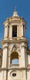 Klokketoren dichtbij het Forum in Rome Stock Afbeeldingen