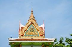 Klokketoren in een tempel Stock Fotografie