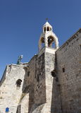 Klokketoren, Kerk van de Geboorte van Christus, Bethlehem royalty-vrije stock foto