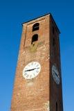 Klokketoren in Luca, Italië Stock Foto's