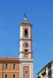 Klokketoren in Nice Stock Afbeeldingen