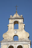 Klokketoren op Korfu Royalty-vrije Stock Foto