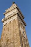 Klokketoren in Piran Stock Foto's