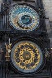 Klokketoren Praag Stock Afbeelding