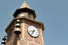 Klokketoren in Solvang Royalty-vrije Stock Afbeeldingen
