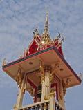 Klokketoren in Thaise tempel Stock Afbeelding
