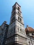 Klokketoren van de kathedraal van Florence royalty-vrije stock afbeelding