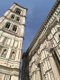 Klokketoren van de kathedraal van Florence Stock Foto
