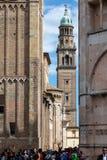 Klokketoren van de kerk van San Giovanni Evangelista Royalty-vrije Stock Foto