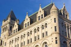 Klokketoren van de Oude Postkantoorbouw in Washington DC, de V.S. Stock Fotografie