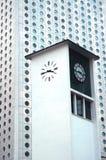 Klokketoren van Edinburgh de Pijler van de Veerboot van Place stock afbeelding