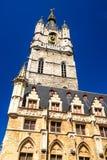 Klokketoren van Gent, België royalty-vrije stock fotografie