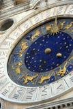 Klokketoren van het Teken van heilige de vierkante royalty-vrije stock afbeeldingen