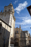 Klokketoren van Kathedraal stock afbeelding