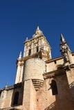 Klokketoren van Kathedraal, Gr Burgo DE Osma, royalty-vrije stock foto