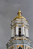 Klokketoren van Kiev-Pechersk Lavra in Kiev, de Oekraïne Royalty-vrije Stock Fotografie