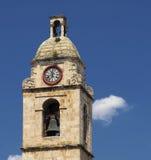 Klokketoren van Manfredonia - Gargano Stock Afbeelding