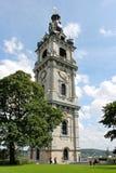 Klokketoren van Mons, België stock foto's