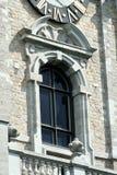 Klokketoren van Mons, België royalty-vrije stock afbeelding